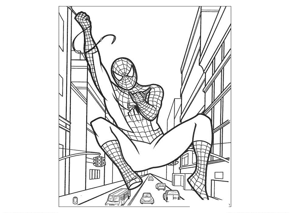 Spiderman Coloring Pages | ColoringMates.