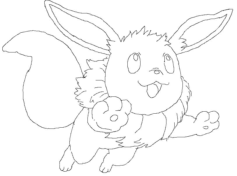 Pokemon Eevee Evolutions Coloring Pages Coloring Pages