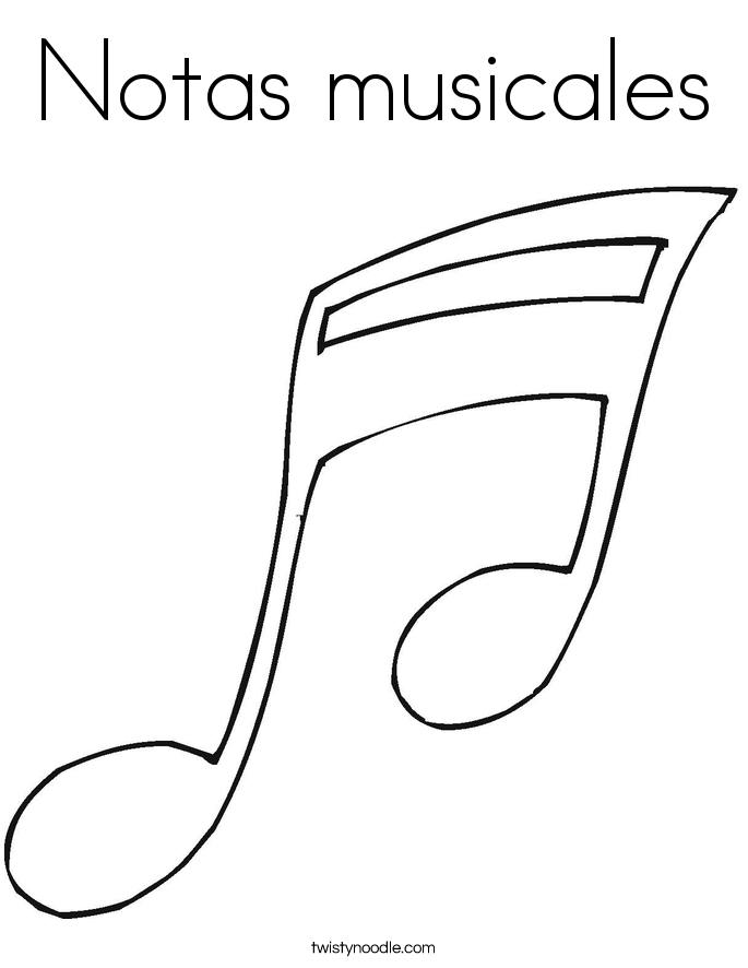 Claves Coloring Page