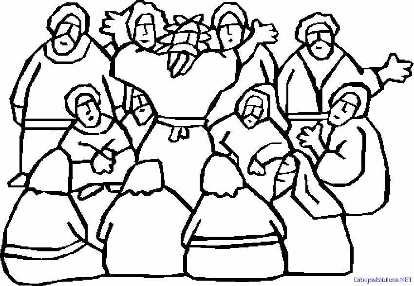 Excepcional Discípulos Para Colorear Imprimibles Ideas - Dibujos ...