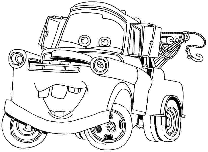 Car Coloring Car Movie Coloring Pages Recent Mistakes One Five ...