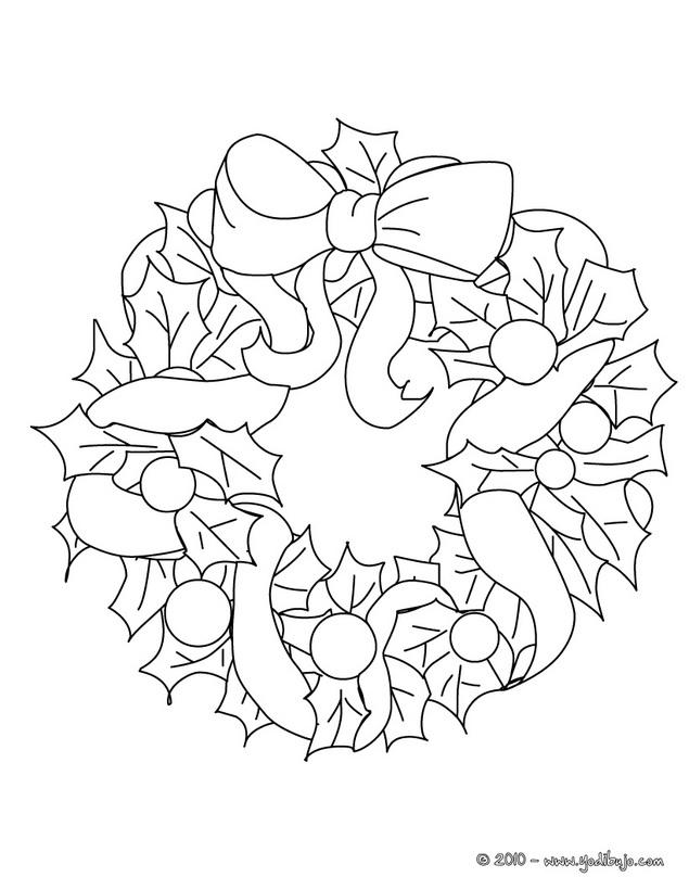 Corona De Adviento Para Colorear  AZ Dibujos para colorear
