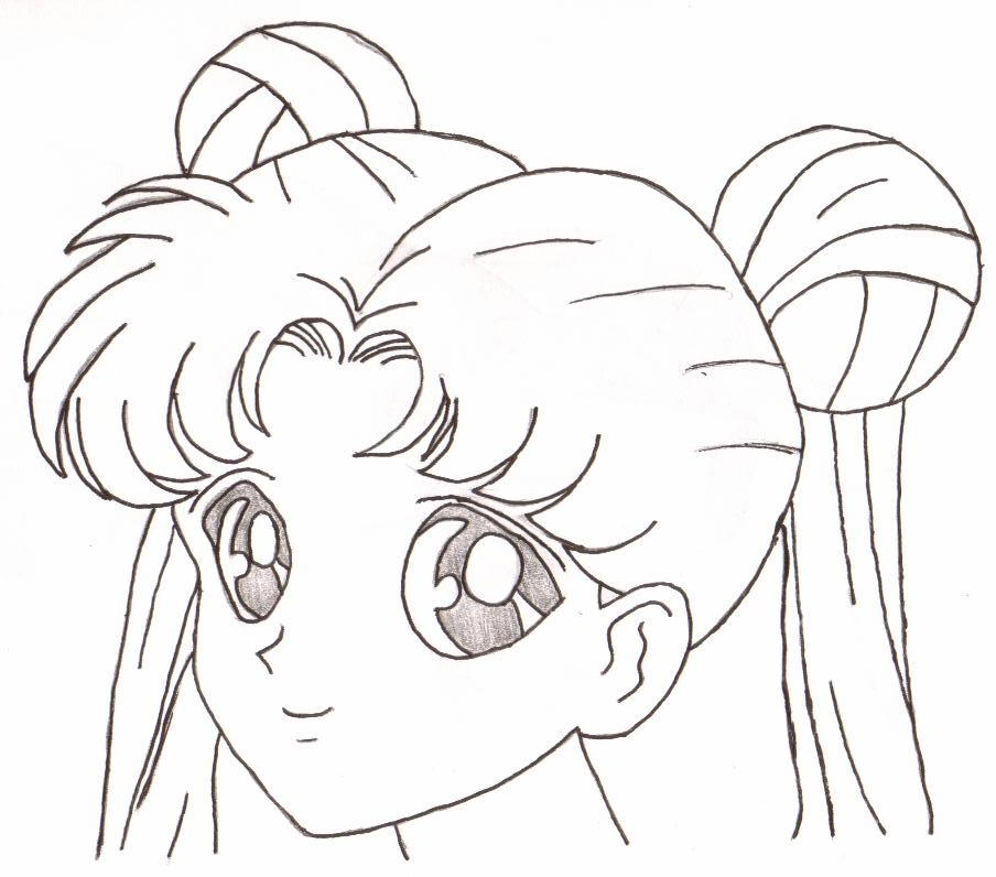 Deviantart More Like Sailor Moon Lineart For Ae By Az Dibujos