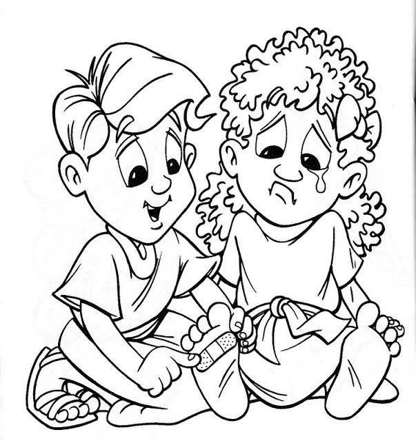 Dibujos Para Colorear Cristianos Para Niños - AZ Dibujos para colorear