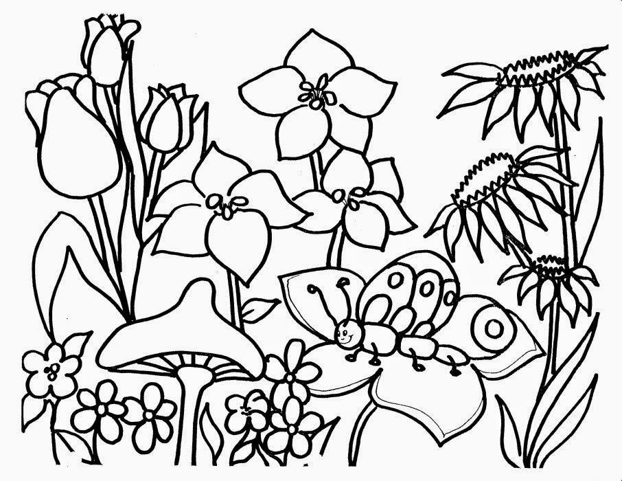 Dibujos Para Colorear De Plantas Y Flores - AZ Dibujos para colorear