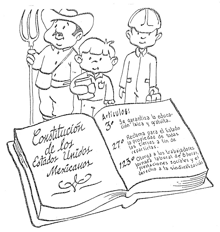 Constitution Coloring Pages for Kids