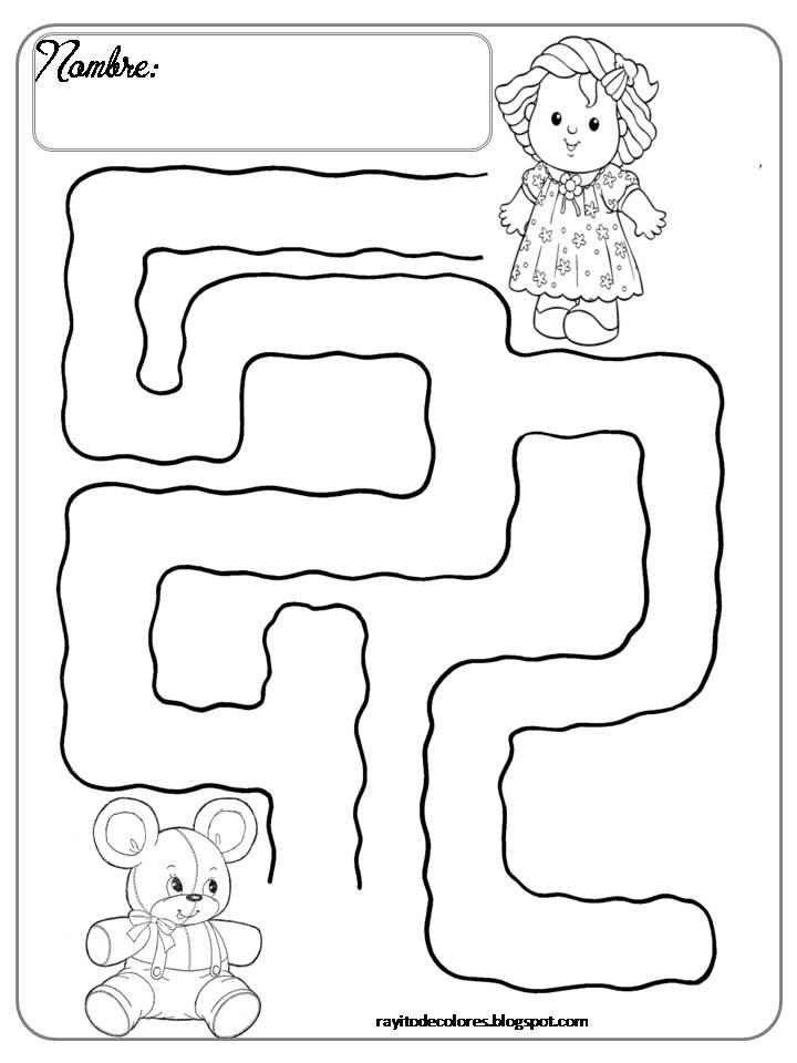 Dibujos De Laberintos Para Niños - AZ Dibujos para colorear