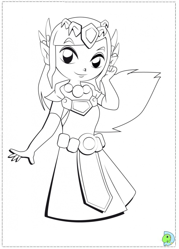 zelda beasts Colouring Pages