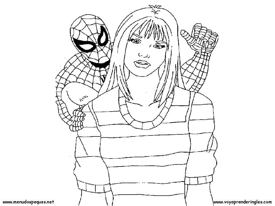 Dibujos Para Imprimir Y Colorear De Spiderman: Dibujos De Spiderman Para Colorear E Imprimir. Cheap El
