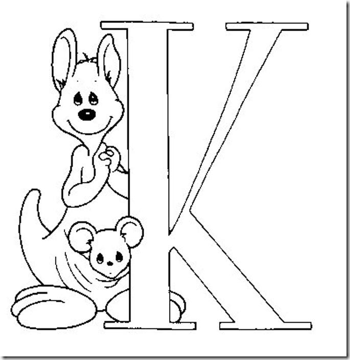Numeros Y Letras Para Colorear - AZ Dibujos para colorear