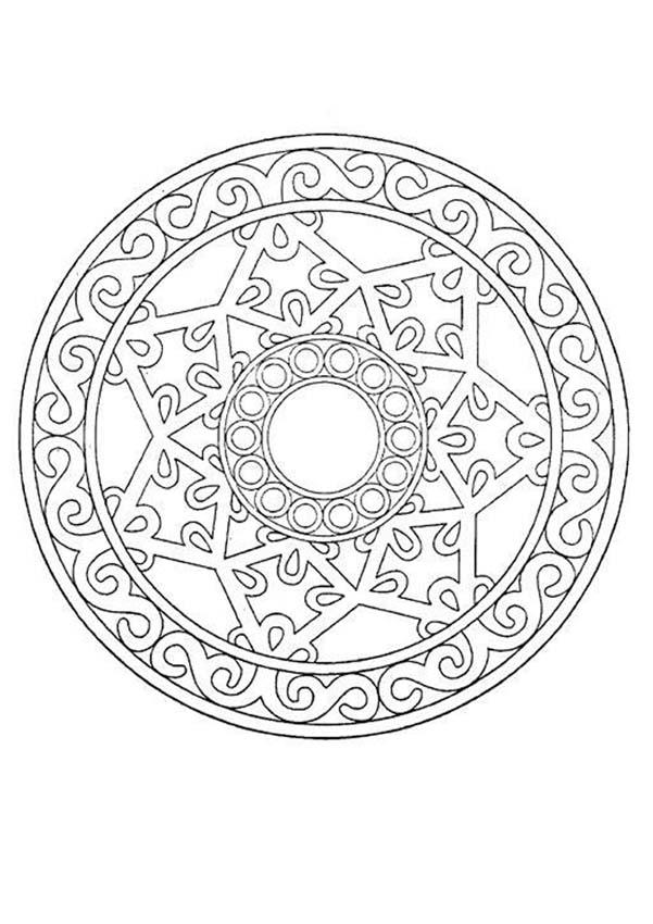 Mandalas for EXPERTS - Mandala 33