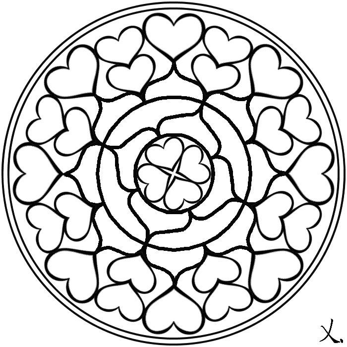 Dibujos De Mandalas Para Colorear E Imprimir  AZ Dibujos para