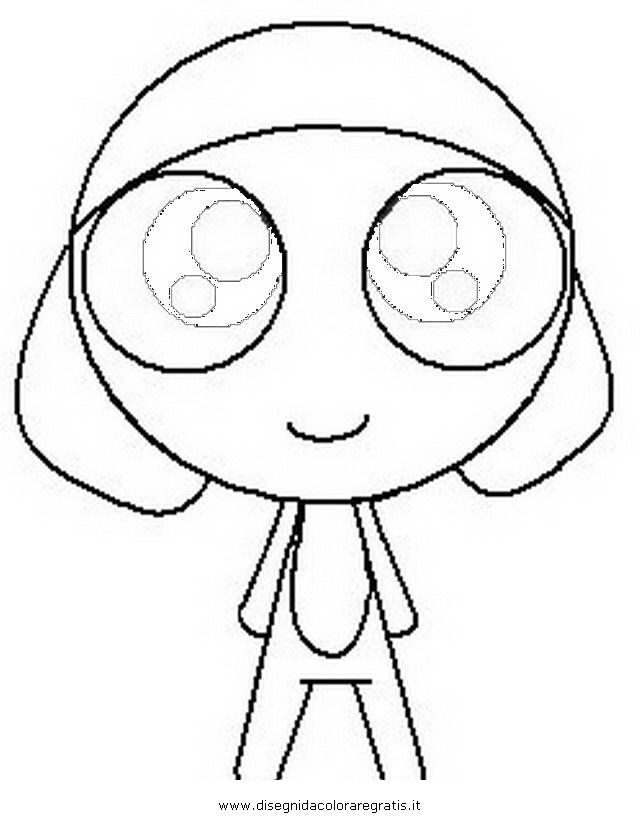 pokemon keroro Colouring Pages (page 2)