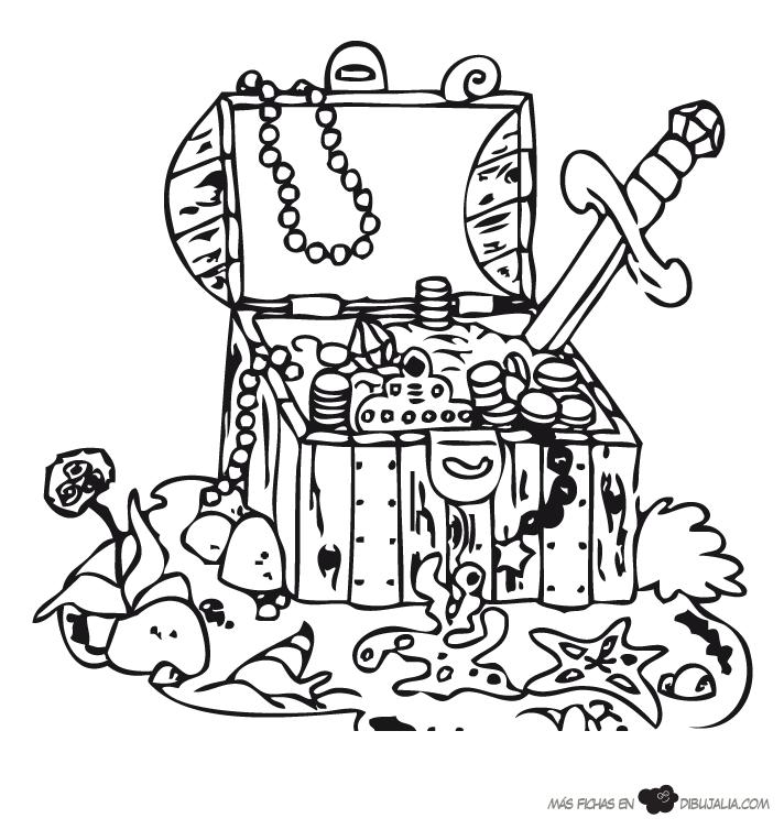 Dibujos Para Colorear Pirata - AZ Dibujos para colorear