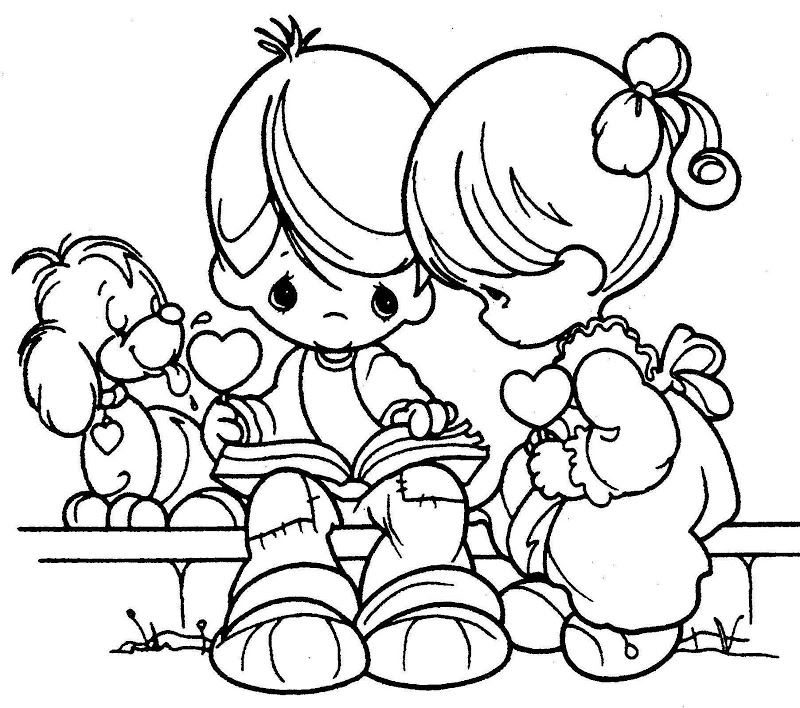 Dogs And Cats Coloring Pages #2