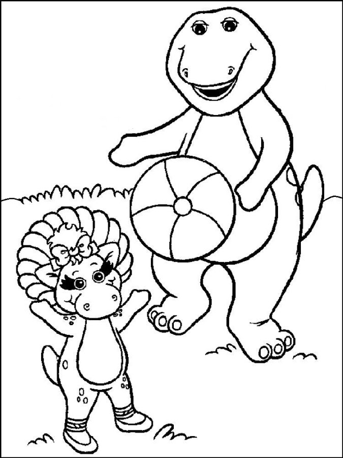 Purple Dinosaur Coloring - Android-Apps auf Google Play