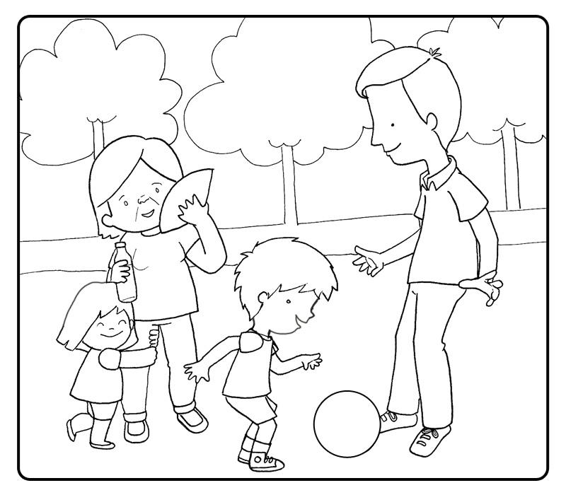 Dibujos Derechos De Los Niños Az Dibujos Para Colorear