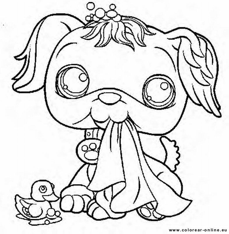 Dibujos Littlest Pet Shop Para Imprimir - AZ Dibujos para colorear