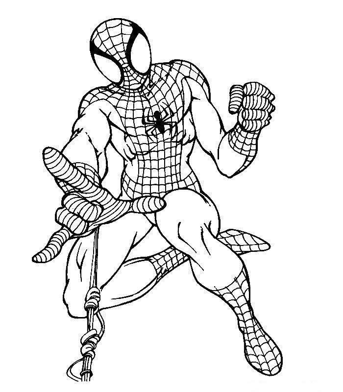 Dibujos De Batman Y Spiderman Az Dibujos Para Colorear