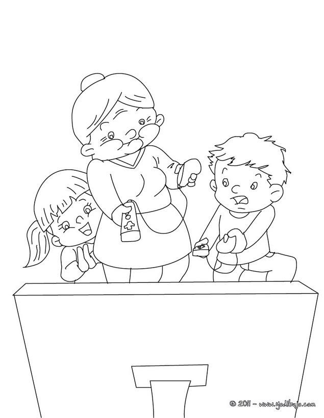 Dibujos De Abuelas Para Imprimir