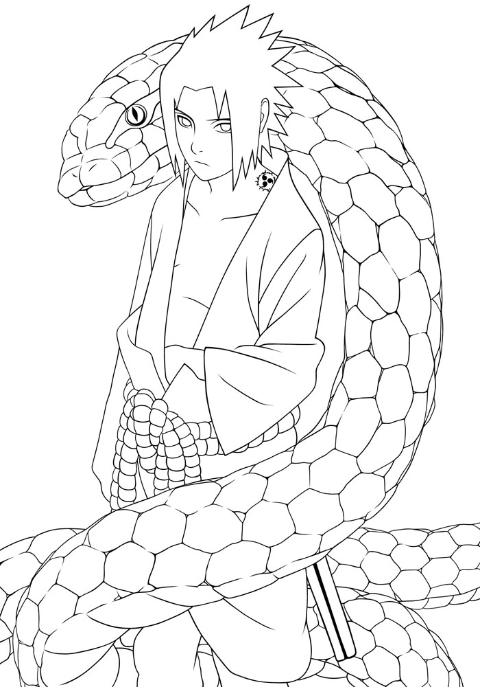 Dibujos De Naruto Para Imprimir  AZ Dibujos para colorear