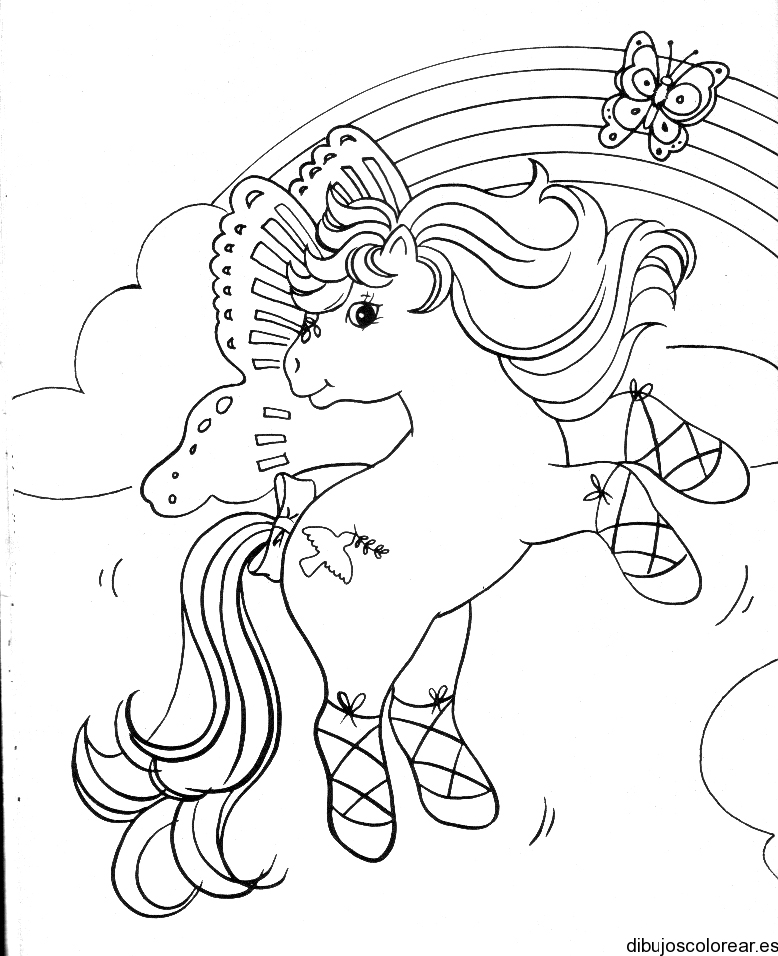 poni para colorear Colouring Pages (page 2)