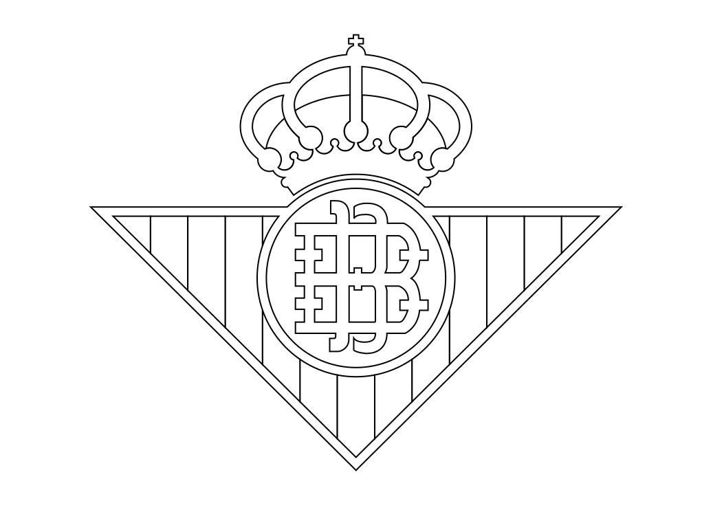 Escudos Del Barça Para Colorear - AZ Dibujos para colorear