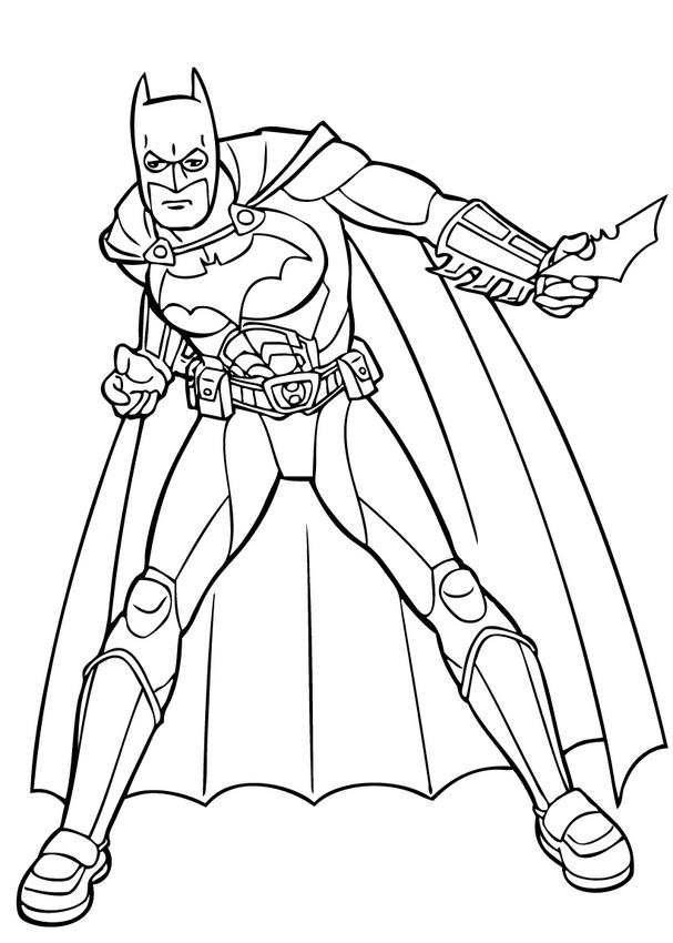 Dibujos De Superheroes Para Imprimir - AZ Dibujos para colorear