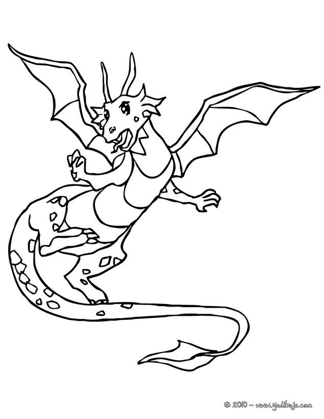 Dibujos De Dragones Chinos Para Colorear - AZ Dibujos para colorear