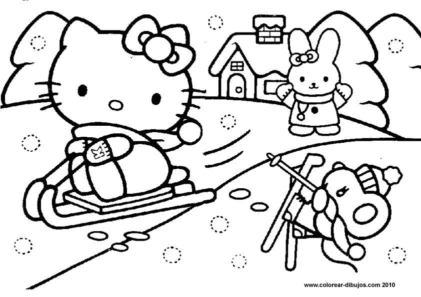 Colorear Paisajes Infantiles Az Dibujos Para Colorear