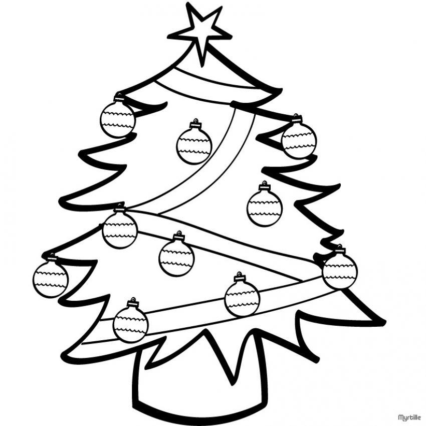 Dibujos arbol navidad imprimir