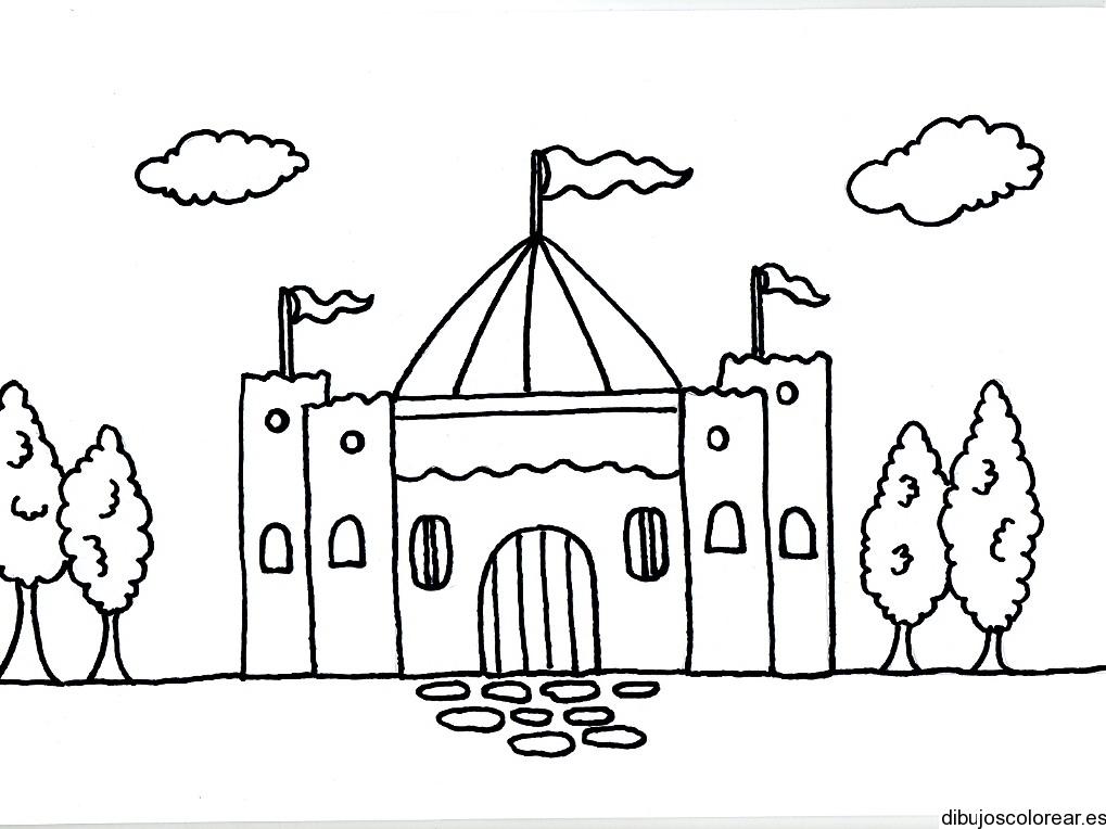 Caballeros Y Castillos Para Colorear - AZ Dibujos para colorear