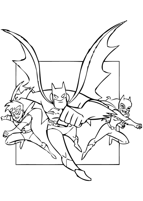Dibujos Animados Para Colorear: Batman Para Colorear - AZ Dibujos ...