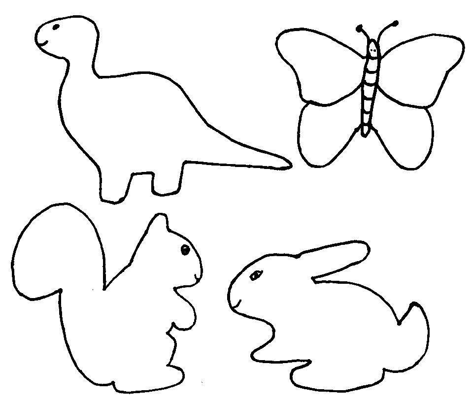 Plantillas Dibujos - AZ Dibujos para colorear