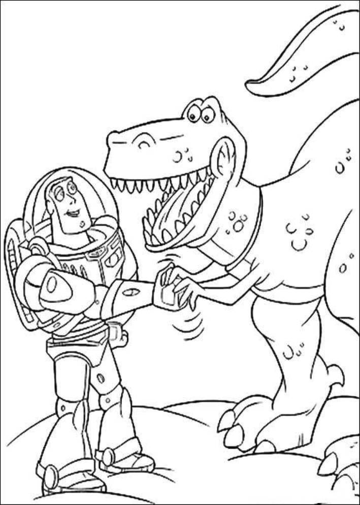 Toy Story Coloring Pages and Book | UniqueColoringPages