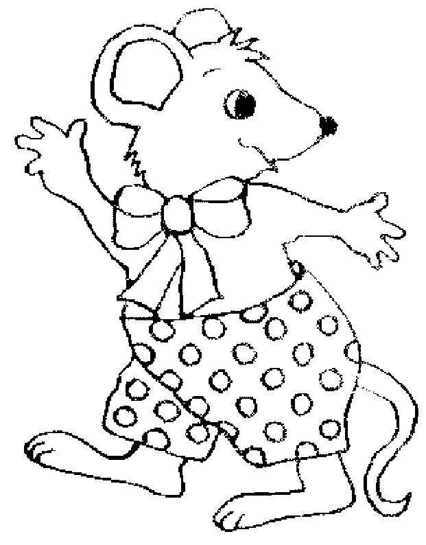 Caricaturas de ratones bonitos para colorear - Imagui: azcolorear.com/caricaturas-para-colorear