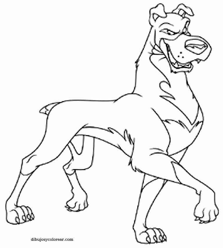 Dibujos De Scooby Doo Para Imprimir - AZ Dibujos para colorear