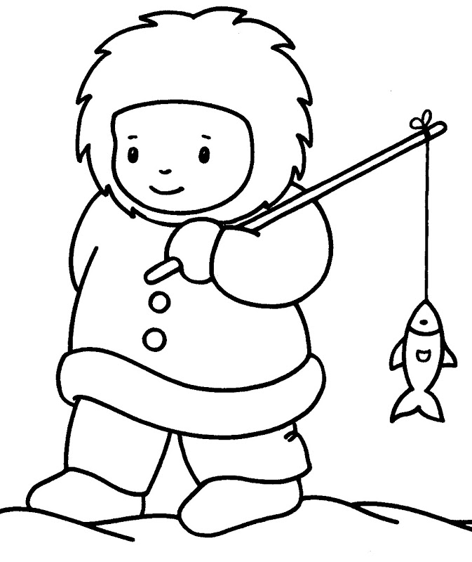ESQUIMALES Colouring Pages (page 2)