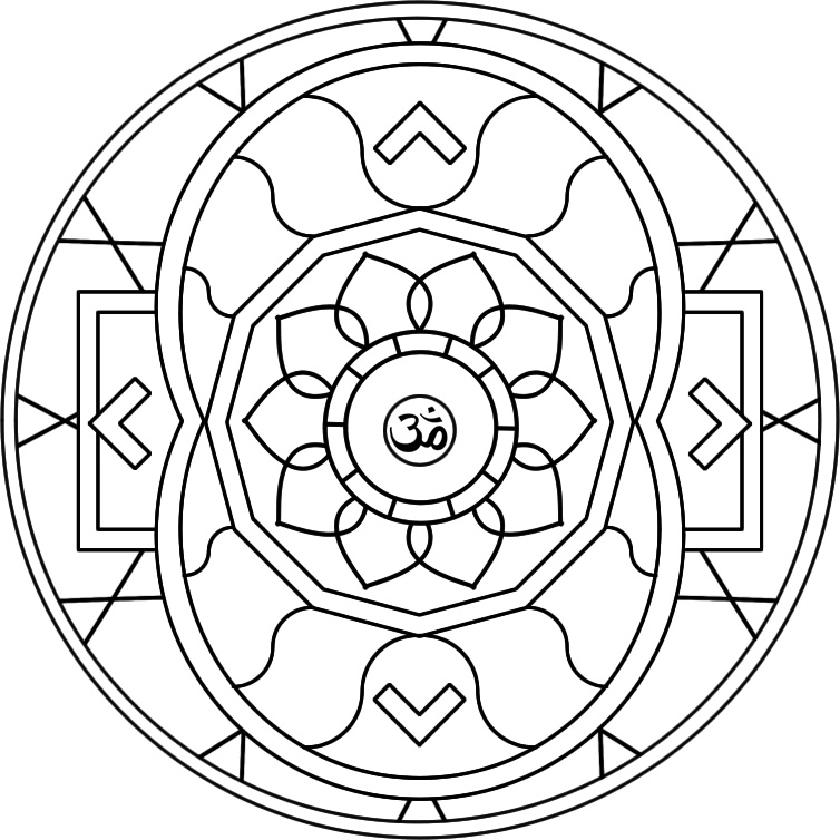 Mandala 52 DIREN Colouring Pages
