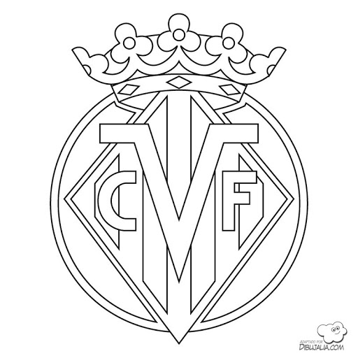 Escudo de Granada c.f Colouring Pages