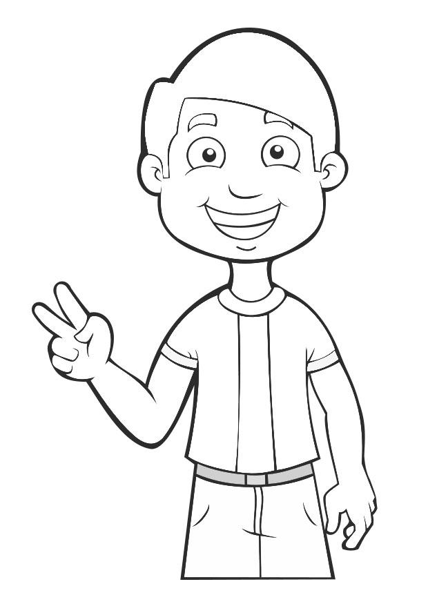 NINO TRISTE Colouring Pages - AZ Dibujos para colorear