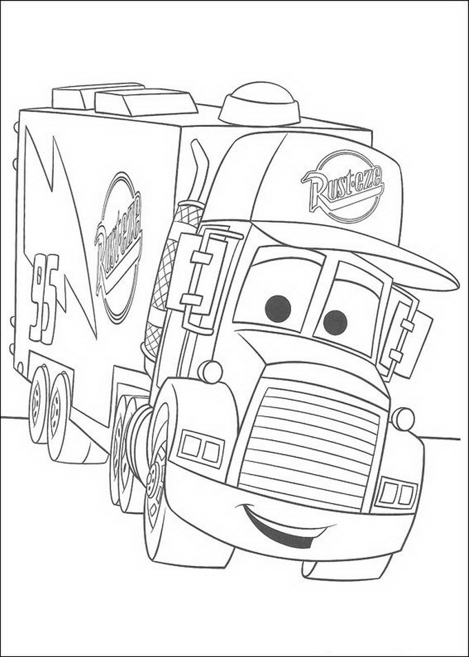 kids car coloring pages printable | Coloring Picture HD For Kids ...
