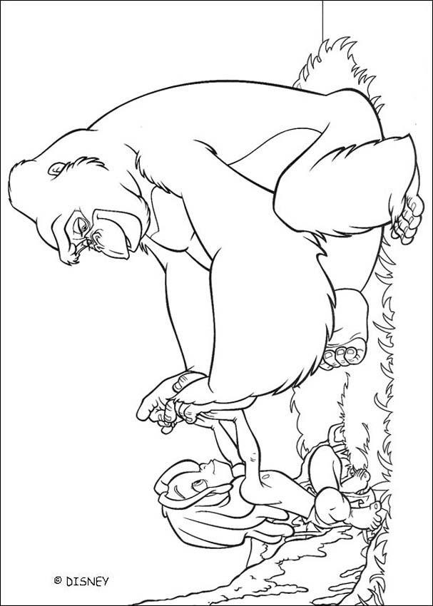 El Libro De La Selva Para Colorear - AZ Dibujos para colorear