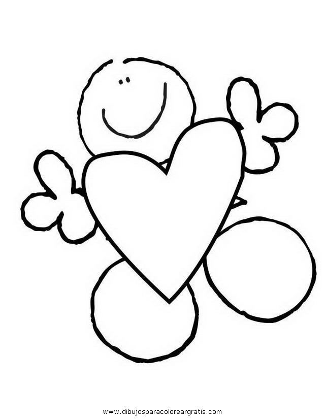 Dibujos Para Colorear Del Dia Del Amor Y La Amistad - AZ Dibujos ...