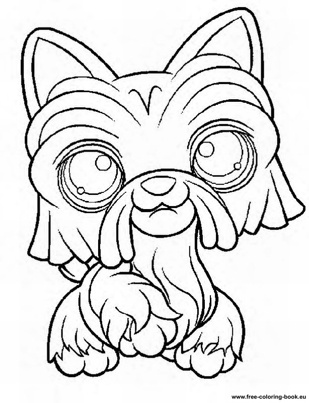 Coloring pages Littlest Pet Shop - Page 1 - Printable Coloring ...