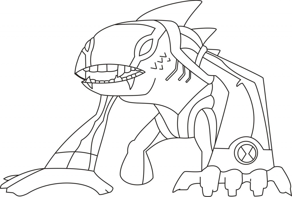 Ben 10 Coloring Pages | ColoringMates.