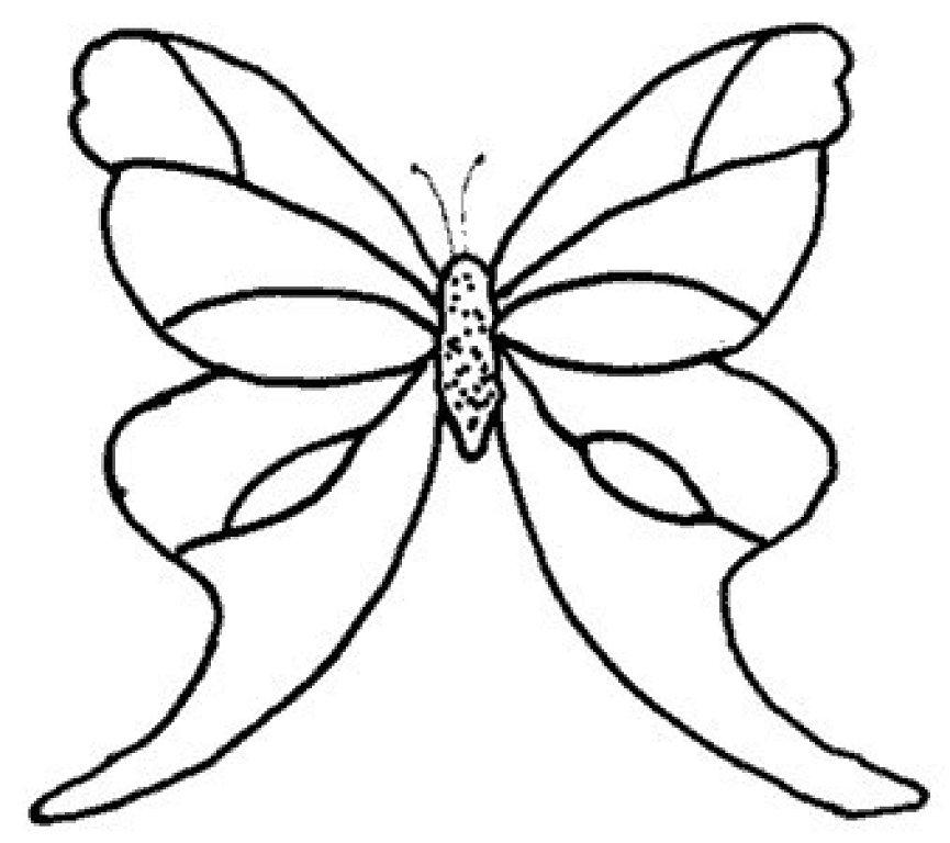 Imagenes De Mariposas De Colores - AZ Dibujos para colorear