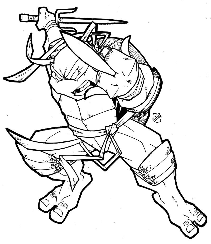 coloring pages ninja turtle - photo#24