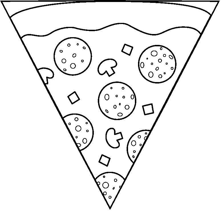 Triangulo Color - AZ Dibujos para colorear