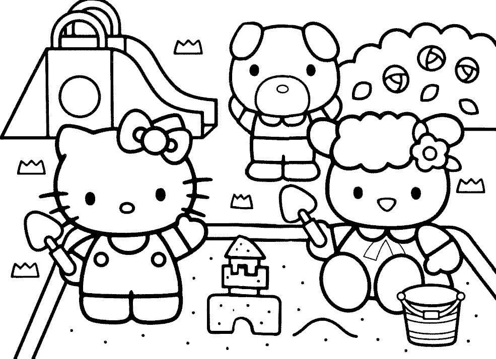 Hello Kitty Para Colorear Fondos De Pantalla Fondos103.com ... - AZ ...